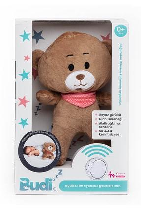 BUDİZZZ Beyaz Gürültü Sağlayan Sensörlü Bebek Uyku Arkadaşı Pembe