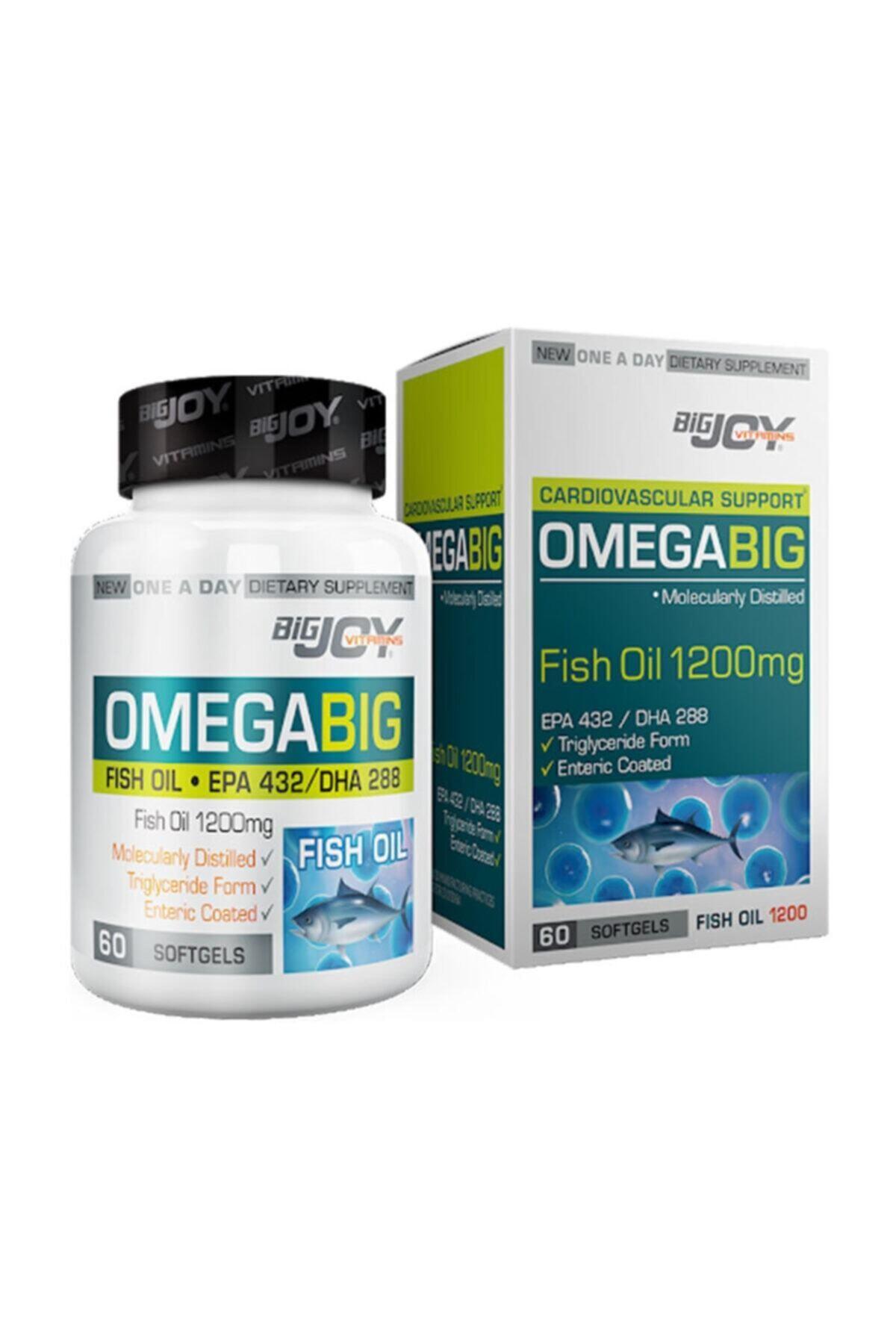 Big Joy Vitamins Omegabig 60 Kapsül 1