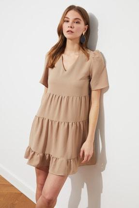 TRENDYOLMİLLA Taş Geniş Kesim Elbise TWOSS20EL0400