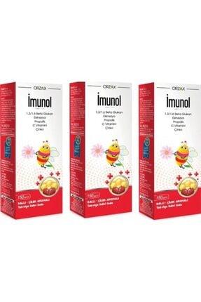 İMUNOL Imunol Beta Glukan Şurup 150ml-3 Adet