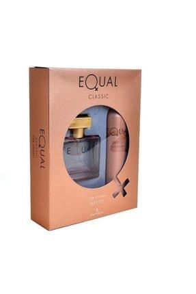 Equal Classic Edt 75 ml Kadın Parfüm Seti  9859869879881-3030