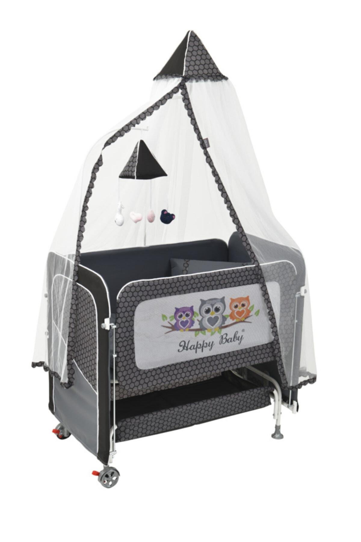 Happy Baby Plus Asansörlü Anne Yanı Beşik 1