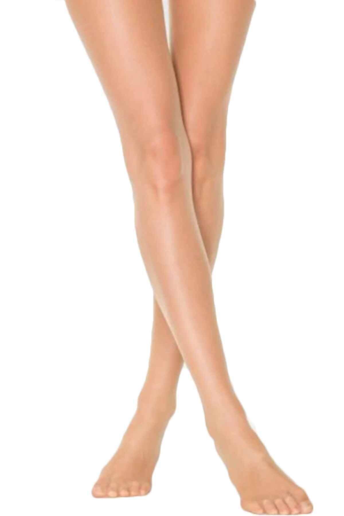 Penti Kadın 3'lü Paket Ten Rengi Süper 15 Den Mat Ince Külotlu Çorap 1
