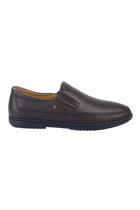 MP Erkek Kahve Deri Günlük Comfort Ayakkabı 211-4251