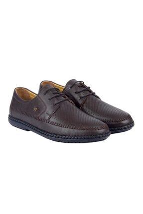 MP 211-4250 Kahve %100 Deri Günlük Erkek Comfort Ayakkabı