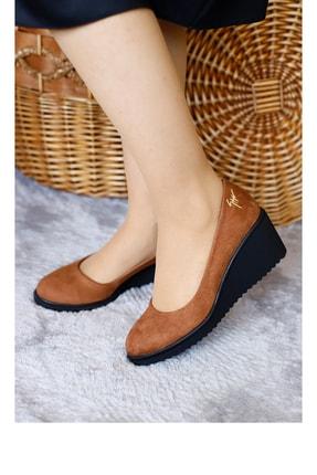 PUNTO Kadın Mevsımlık Dolgu Topuklu Ayakkabı