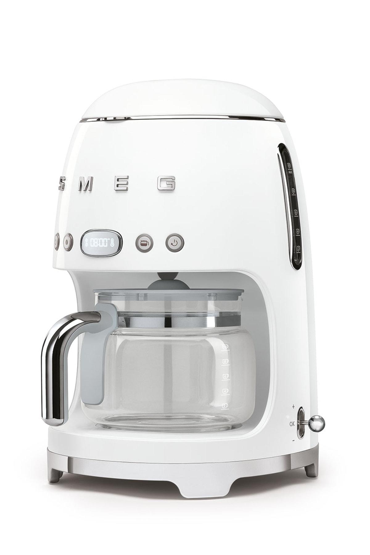 SMEG Dcf02wheu Filtre Kahve Makinesi Beyaz 2