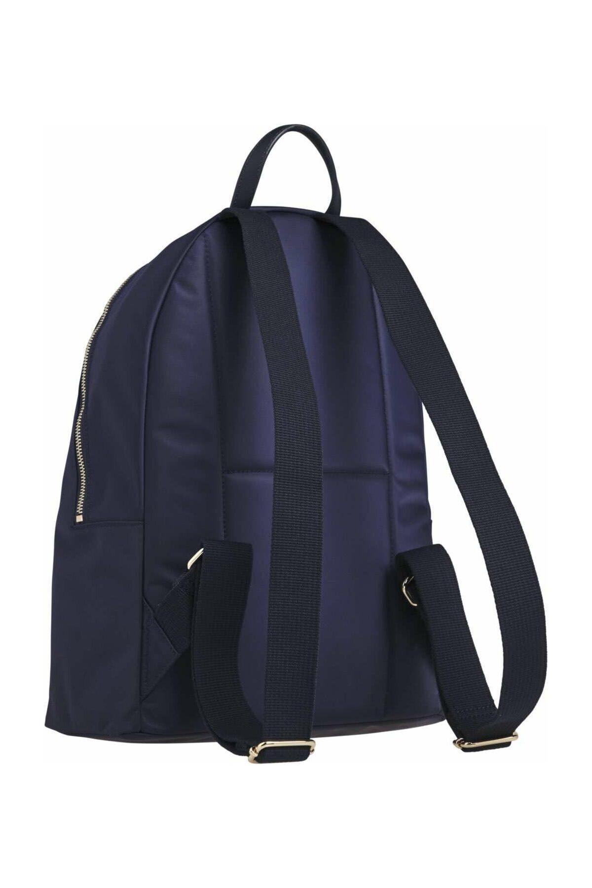 Tommy Hilfiger Kadın Mavi Sırt Çantası Poppy Backpack Corp AW0AW08823 2