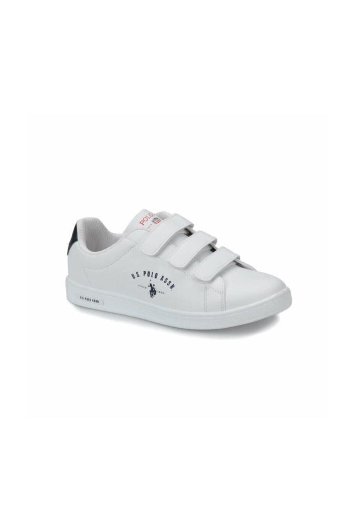 U.S. Polo Assn. SINGER Beyaz Kadın Sneaker Ayakkabı 100279016 1