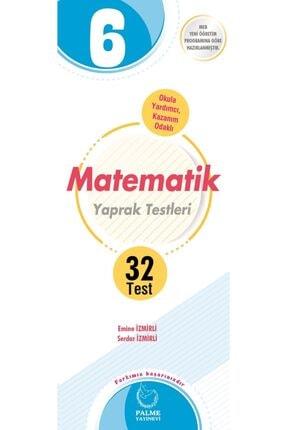 Palme Yayınevi Matematik Yaprak Test 6. Sınıf 32 Test