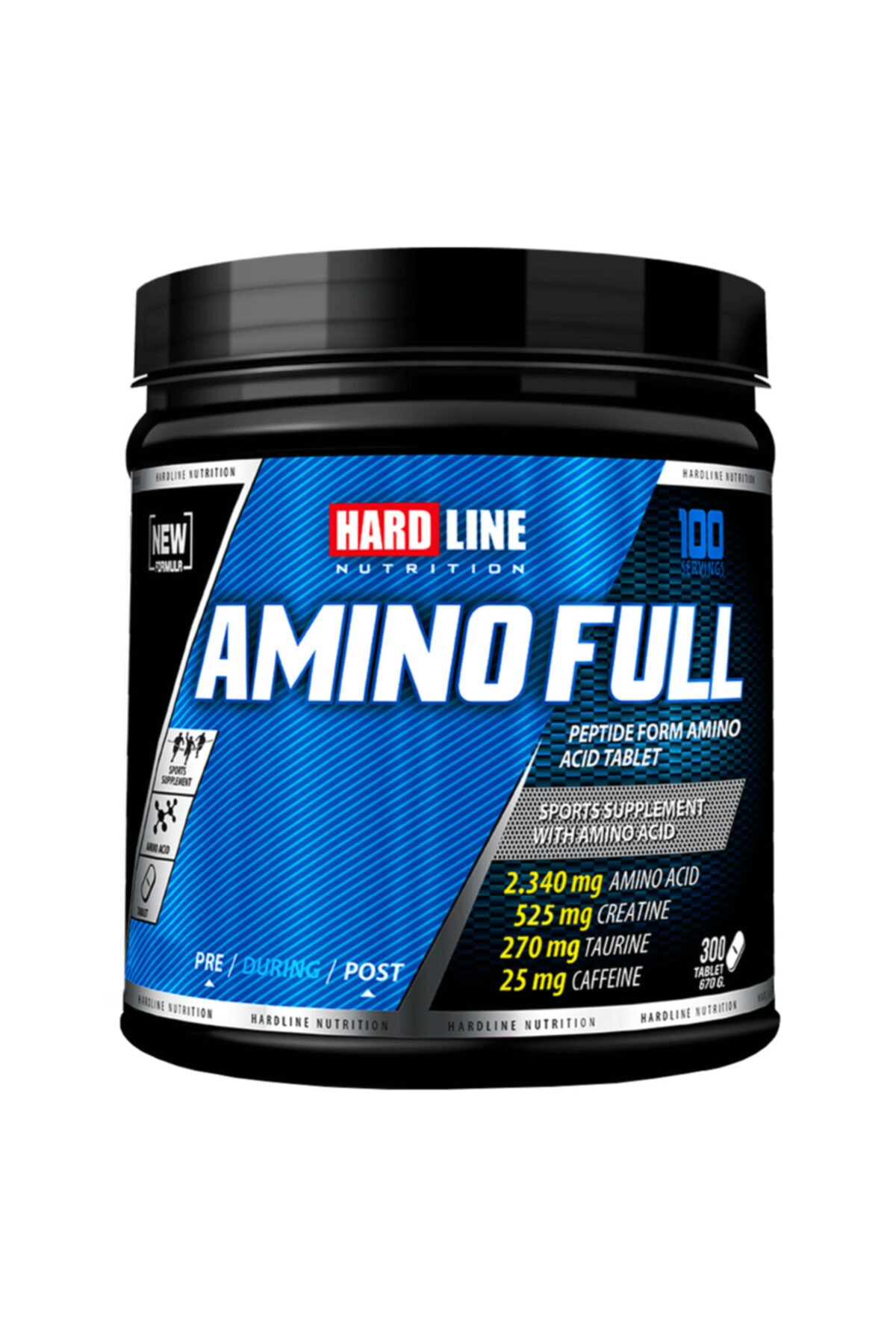 Hardline Amino Full 300 Tablet 1