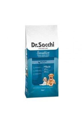 Dr. Sacchi Premium Sensitive Salmon Yetişkin Köpek Maması 15 kg