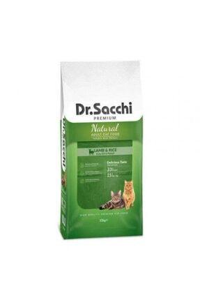 Dr. Sacchi Premium Natural Kuzulu ve Pirinçli Yetişkin Kedi Mamasi 15 kg