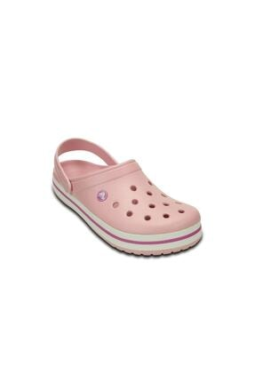 Crocs Kadın Crocband  Terlik & Sandalet - Pearl Pink/Wild Orchid (İnci Pembe/Vahşi Orkide)