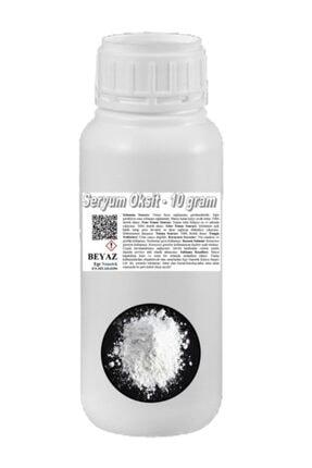 EGE NANOTEK Oto Cam Çizik Giderici Beyaz Seryum Oksit - 10 gram