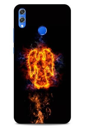 Lopard Huawei Honor 8x Uyumlu Kılıf Firex (6) Silikon Kılıf Melek