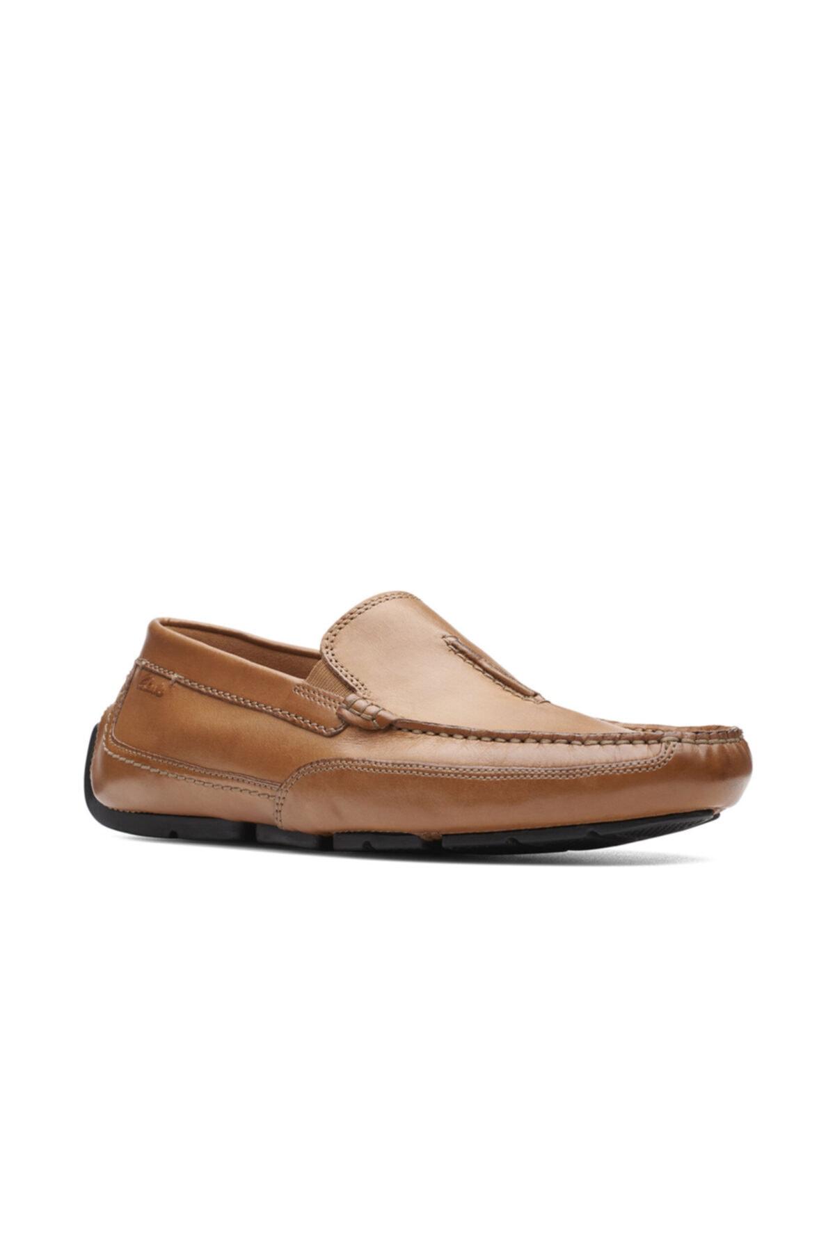 CLARKS Erkek Taba Renk Klasik Şık Ve Rahat Ayakkabı 1