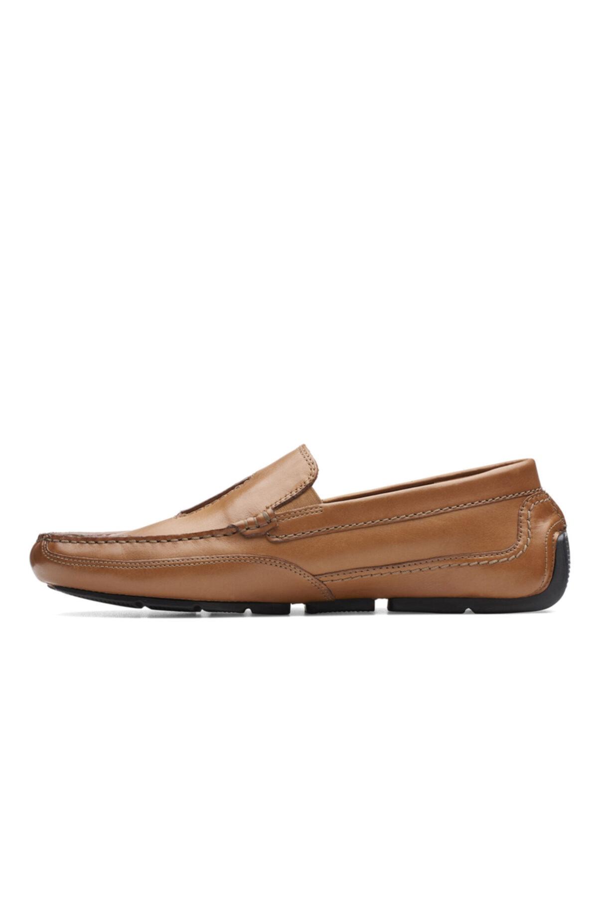 CLARKS Erkek Taba Renk Klasik Şık Ve Rahat Ayakkabı 2