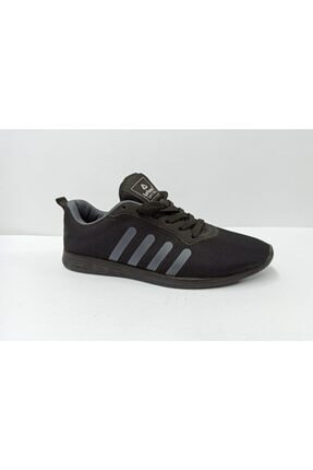LETOON Kadın Siyah Spor Ayakkabı