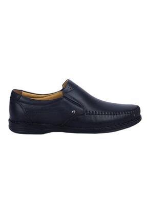 MP Erkek Siyah   211-4244 Deri Günlük Comfort Ayakkabı