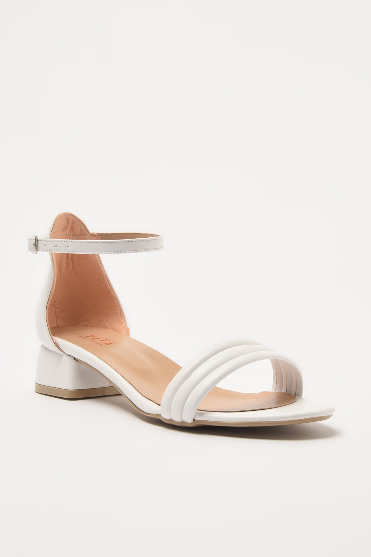 Yaya  by Hotiç Beyaz Kadın Sandalet 01SAY209500A900 2