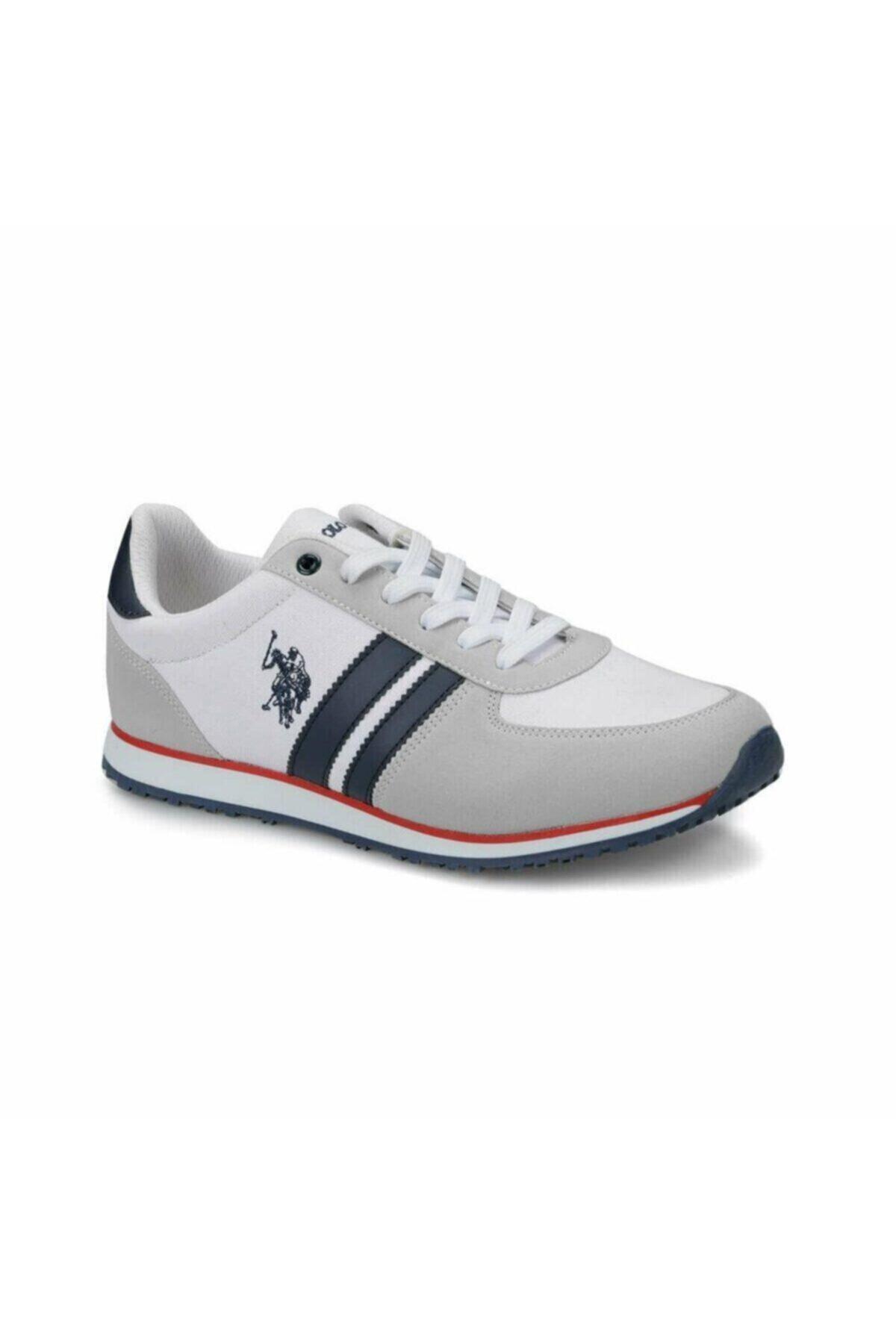 U.S. Polo Assn. Erkek Beyaz Sneaker Plus10048390 1