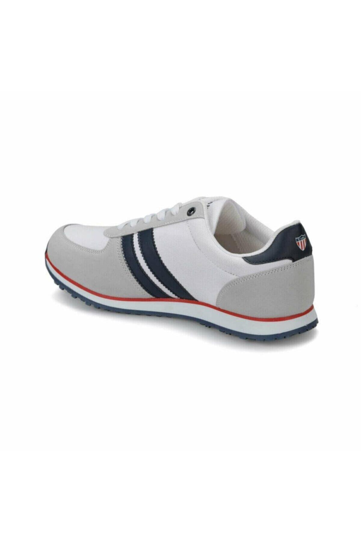U.S. Polo Assn. Erkek Beyaz Sneaker Plus10048390 2