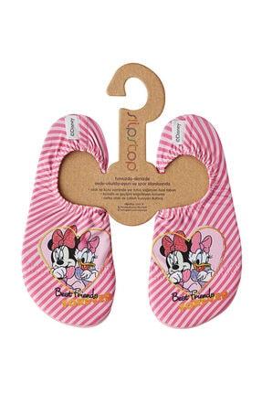 SLIPSTOP Disney Minnie Kız Çocuk Pembe Deniz Ayakkabısı