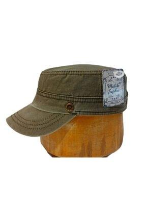 Melik şapka Haki Eskitmeli Yazlık Castro Şapka
