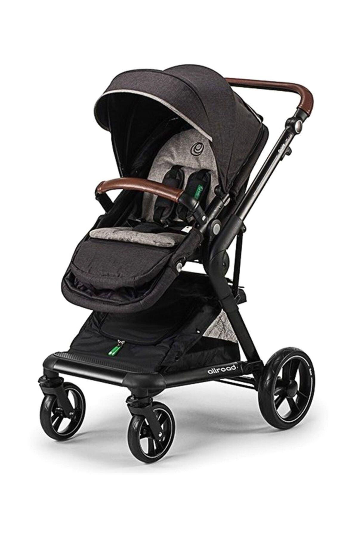 Elele Baby Allroad Travel Set Bebek Arabası SİYAH 1