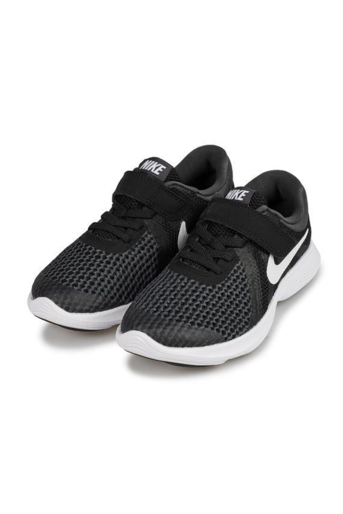 Nike Erkek  Çocuk Siyah Bantlı Spor Ayakkabı 1
