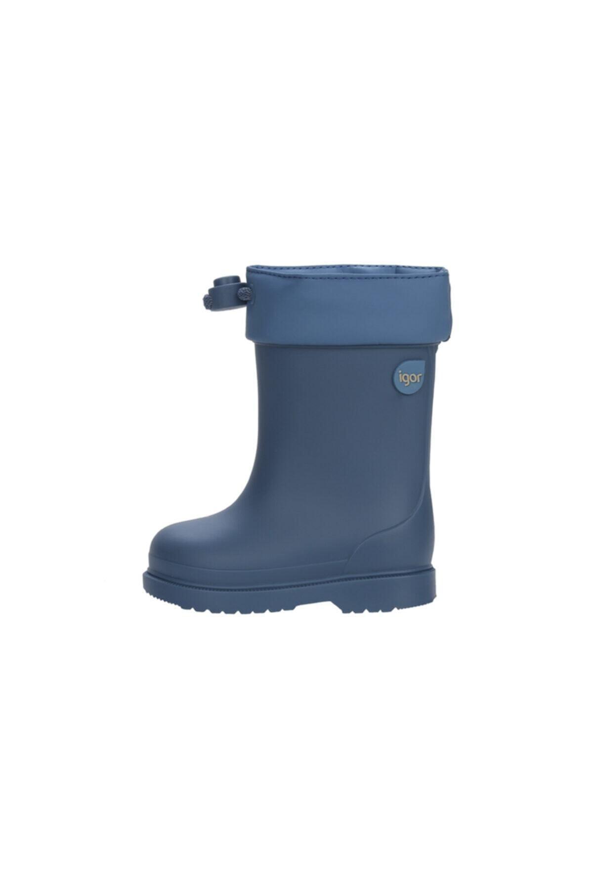 IGOR W10100 Chufo Cuello-047 Mavi Erkek Çocuk Yağmur Çizmesi 100386340 1