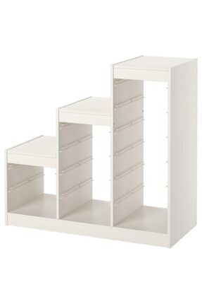 IKEA Trofast Iskelet Beyaz, 99x44x94 Cm