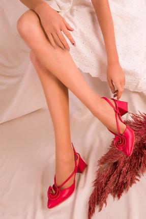 SOHO Kırmızı Kadın Klasik Topuklu Ayakkabı 15991