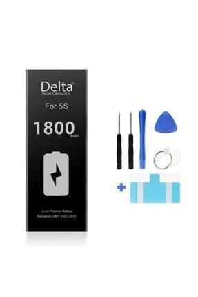 DeltaMobile Delta Mobile Iphone 5s 1800mah Yüksek Kapasite Batarya