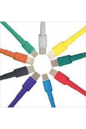Çetin Iphone Şarj Kablosu Koruyucu Makaron 10 Adet 6 Cm 5 Farklı Renk