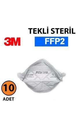 3M 9152e Ffp2 Solunum Koruyucu Maske 10 Adet