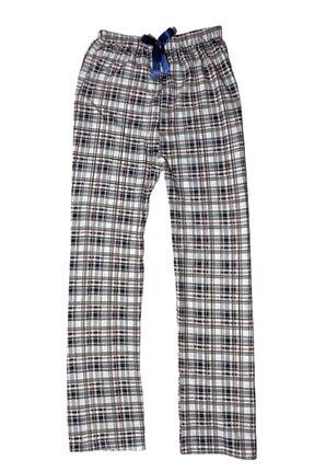 OMODAM Kadın Beli Lastikli Baskılı Desenli Penye Pijama Altı