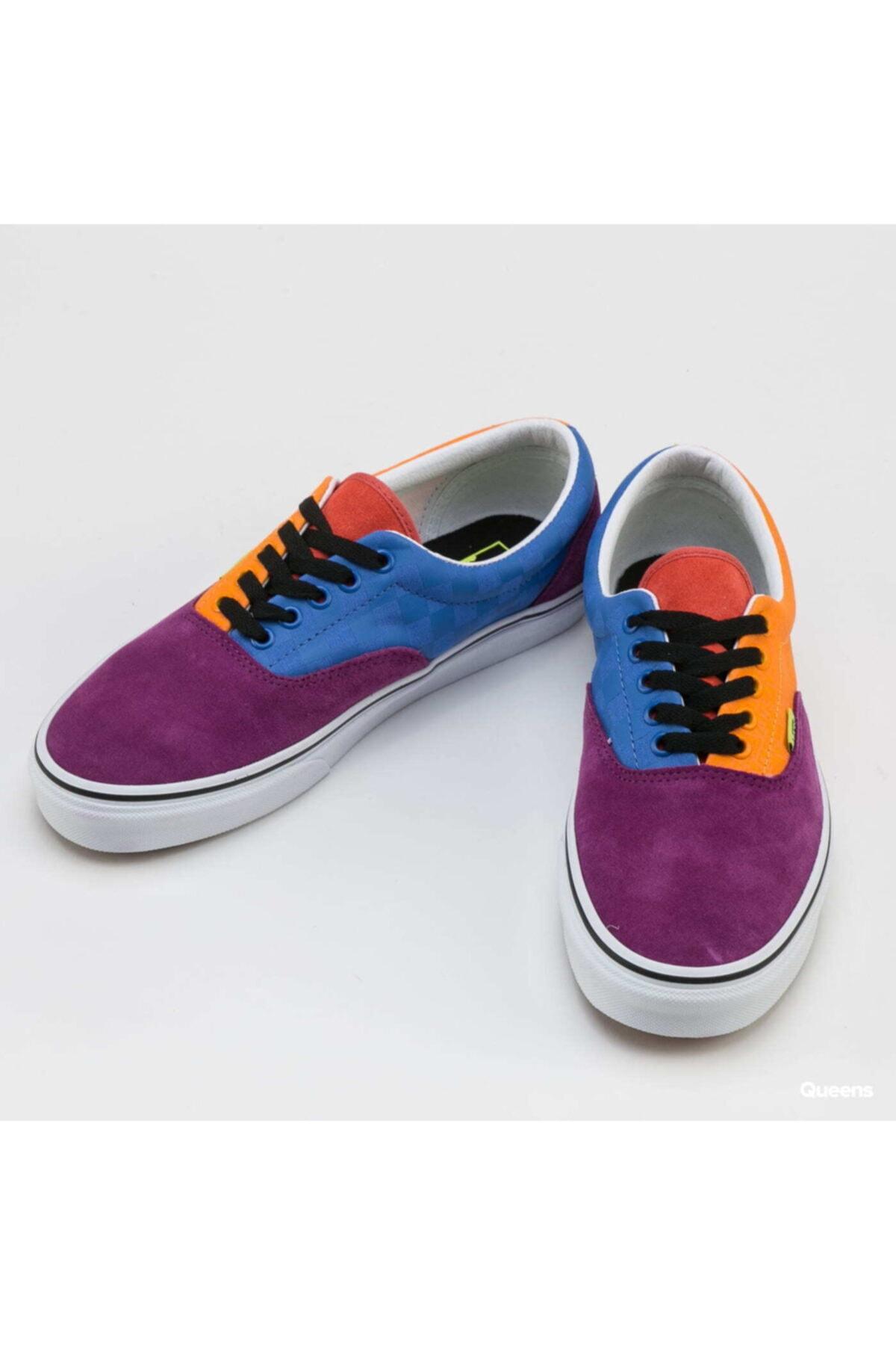 Vans Erkek Mor Sneaker Ayakkabı Vn0a4bv416v1 2