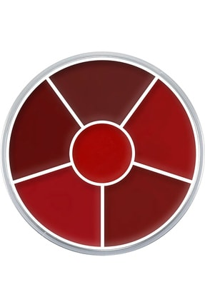 Kryolan Ruj Çarkı Lip Rouge Wheel 6 Renk 30 gr 01216 D
