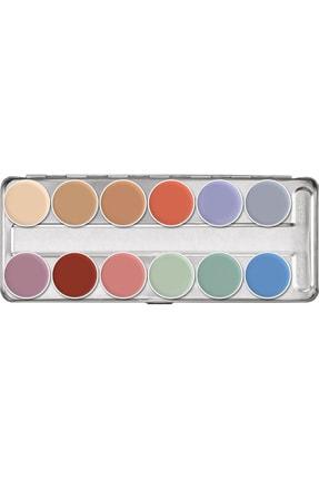 Kryolan Supracolor® Paleti 12 Renk 01004 P
