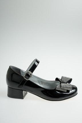 Ramer Kız Çocuk Siyah Babet Ayakkabı