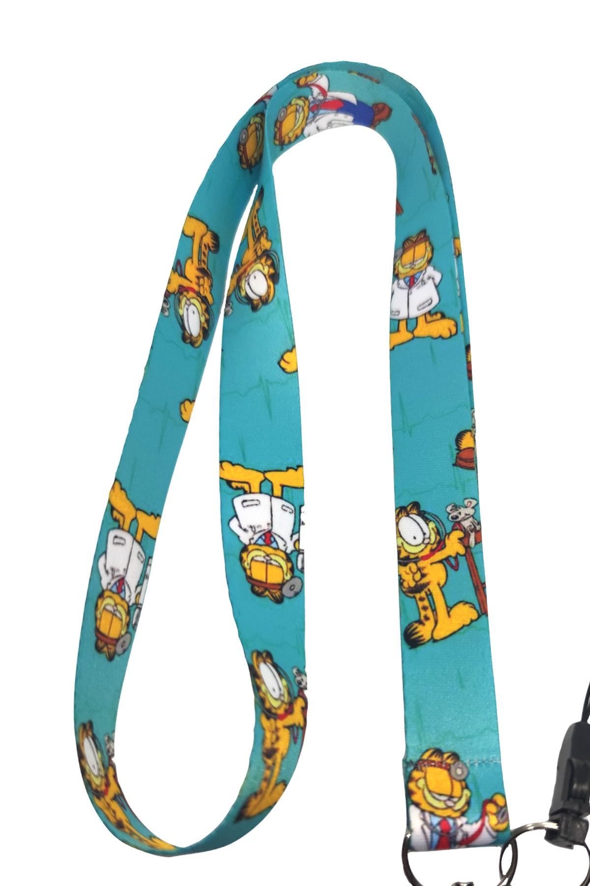StormiStoretr Garfield Desenli Limited Edition Boyun Ipi Telefon Askısı 2