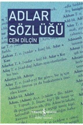 İş Bankası Kültür Yayınları Adlar Sözlüğü