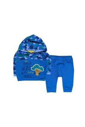 Tongs Baby Unisex Mavi 2li Bebe Takım