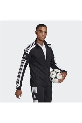 adidas Erkek Siyah Fermuarlı Sweatshirt