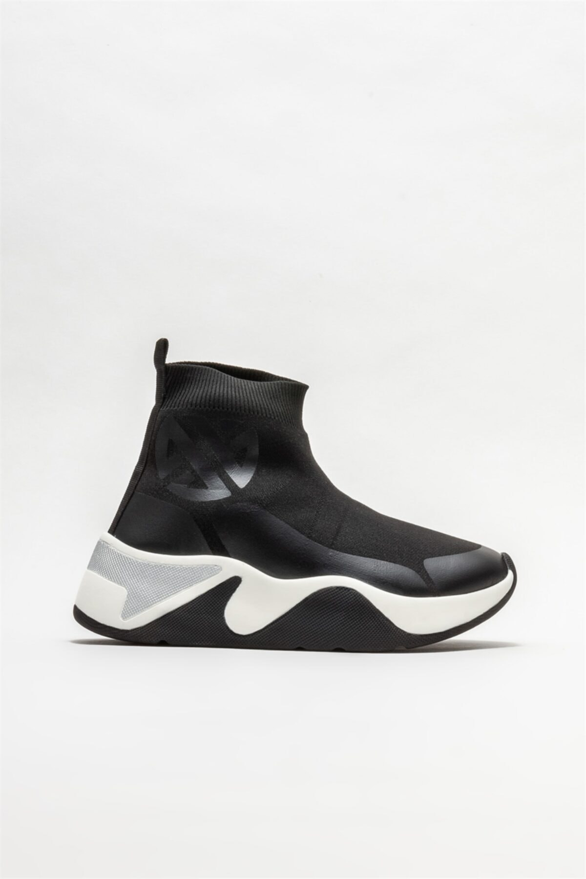 Elle Shoes Siyah Kadın Düz Bot 1