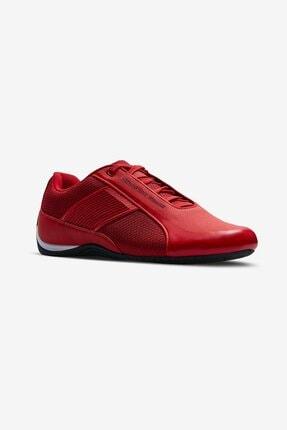 Lescon Erkek Kırmızı Sailer Sneakers Ayakkabı