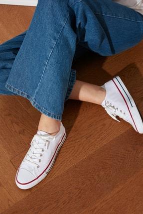 TRENDYOLMİLLA Beyaz Kadın Sneaker TAKSS21SN0008
