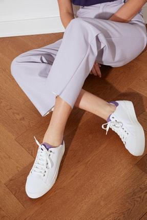 TRENDYOLMİLLA Lila Süet Detaylı Kadın Sneaker TAKSS21SN0005